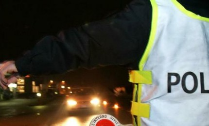 Cefalù. Controlli durante la notte della Polizia Stradale, denunciate due persone.