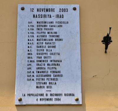 Castelbuono: disappunto dell'opposizione per il no alla memoria dei caduti di Nassirya