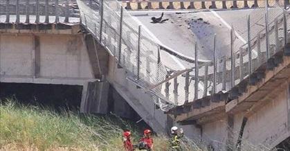 La fretta nella consegna all'origine del crollo del viadotto sulla Palermo-Agrigento