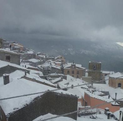 Emergenza neve a San Mauro Castelverde