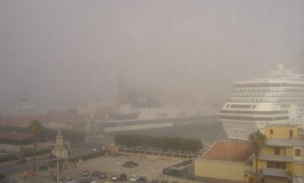 Dopo neve e grandine, a Palermo arriva anche la nebbia
