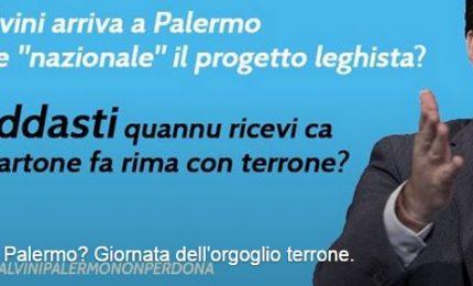 """""""Orgoglio terrone"""". Così la Sicilia accoglie Salvini"""