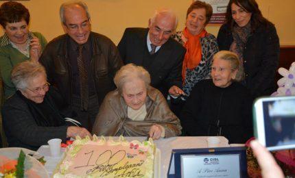 Castelbuono festeggia un'altra centenaria