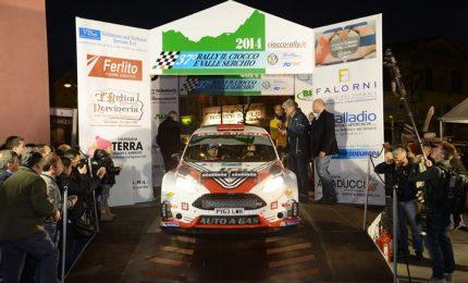 Programma ed elenco iscritti del Rally del Ciocco, prima gara del CIR 2015