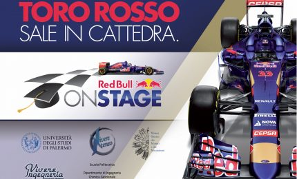 La Toro Rosso F1 Team sale in cattedra all'università di Palermo
