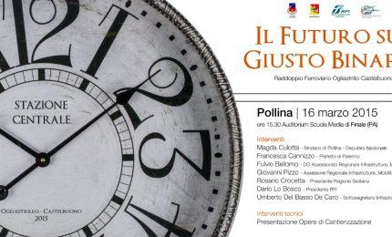A Pollina si parla del raddoppio ferroviario Ogliastrillo-Castelbuono