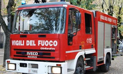 Incendio in una palazzina a Castellana Sicula