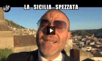 """Le Iene: Giulio Golia racconta da Caltavuturo la """"Sicilia Spezzata"""" [VIDEO]"""