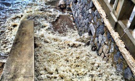 Bomba d'acqua su Cefalù, il secondo VIDEO e le foto