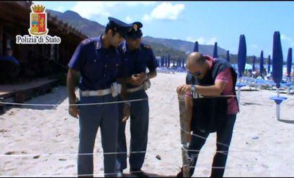 Cefalù: porzione di spiaggia torna libera [VIDEO]