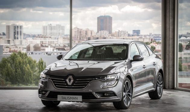 Renault presenta la nuova grande berlina Talisman