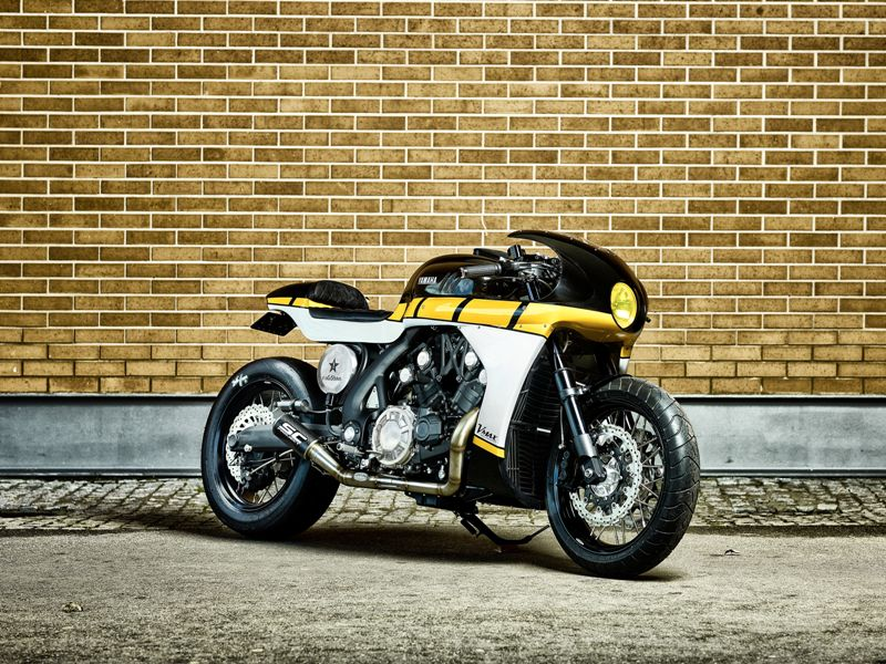 Nuova Yamaha Yard Built Vmax 'CS_07 Gasoline'