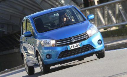 Suzuki Celerio, l'auto a benzina più efficiente in Italia