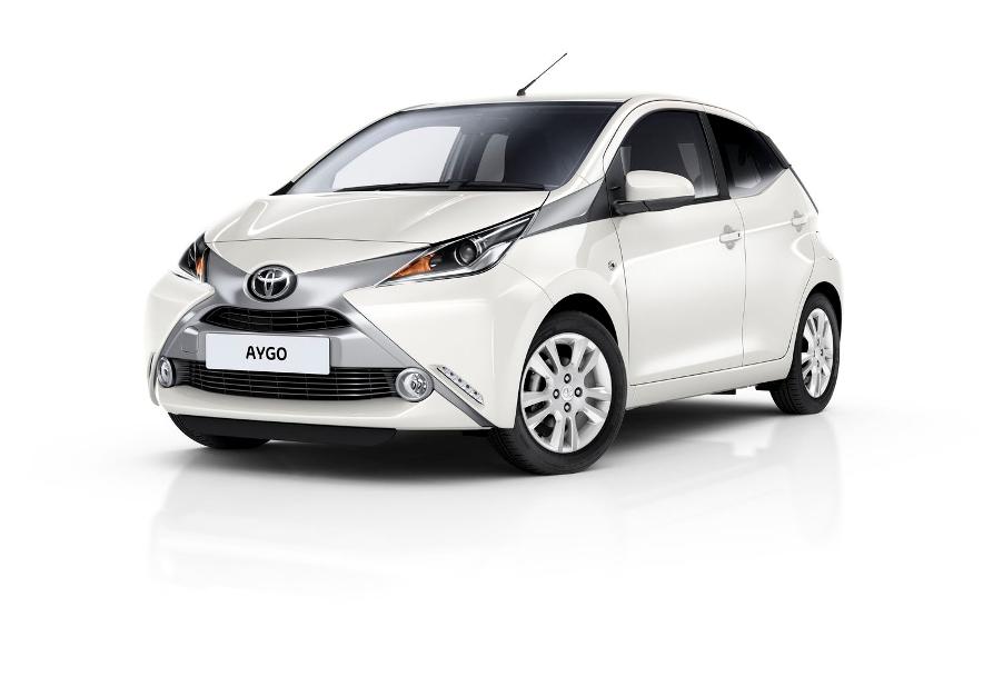 Nuova Toyota AYGO x-pure