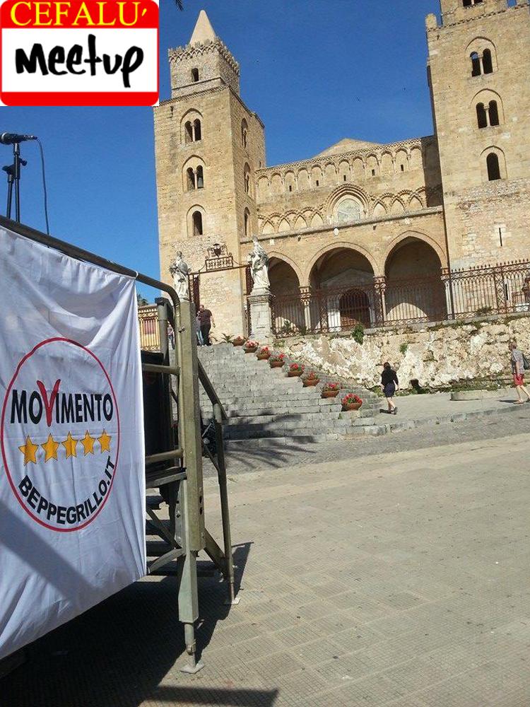 Cefalù: comincia la campagna elettorale del M5s