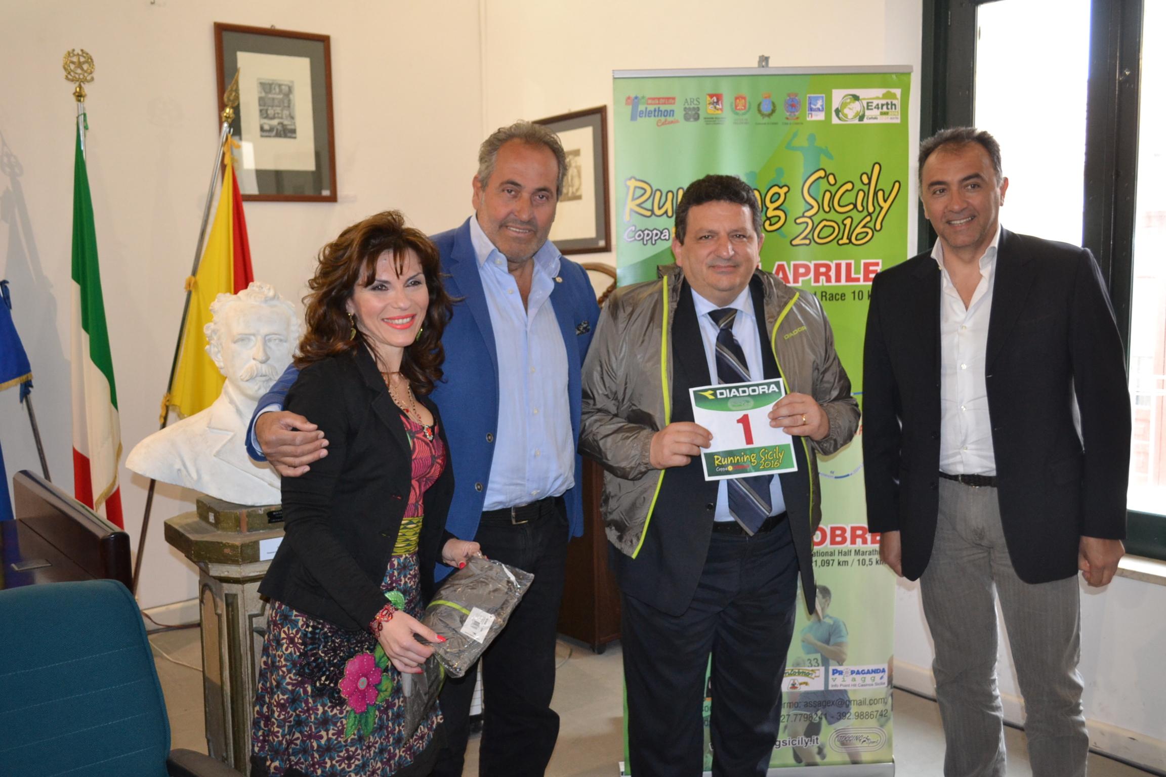 Running Sicily – Coppa Conad, si presenta la tappa di Cefalù