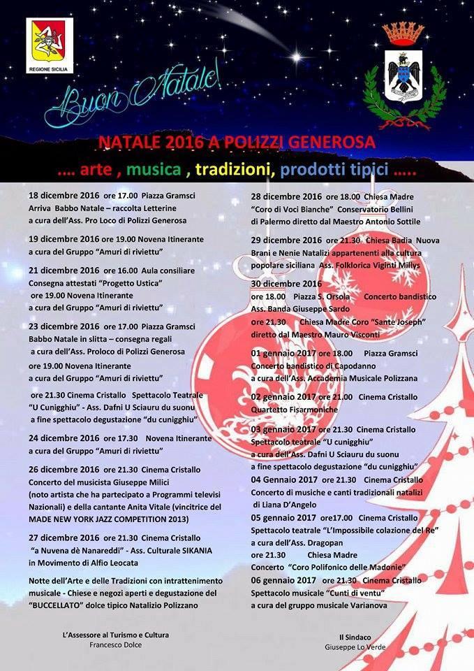 Natale 2016 A Polizzi Generosa