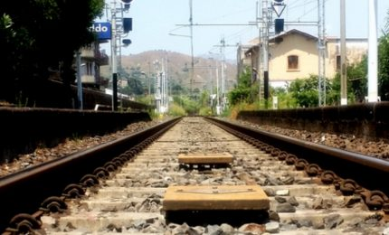 Pollina, pericolo frana sul tratto ferroviario verso Tusa