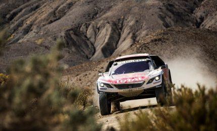 La Peugeot 3008DKR in testa alla Dakar dopo tappa 4