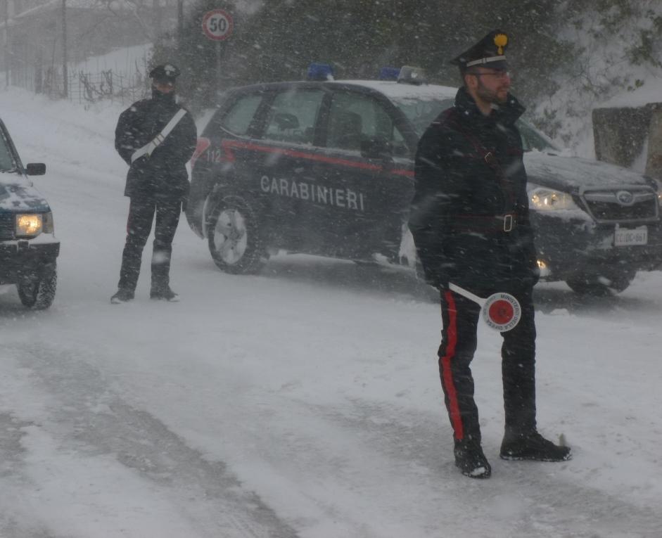 Emergenza neve sulle Madonie, numerosi gli interventi di soccorso