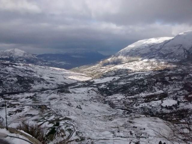 Temperature in calo, si attende la neve sulle Madonie