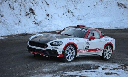 Abarth 124 Rally: pronto il debutto al Rallye di Montecarlo