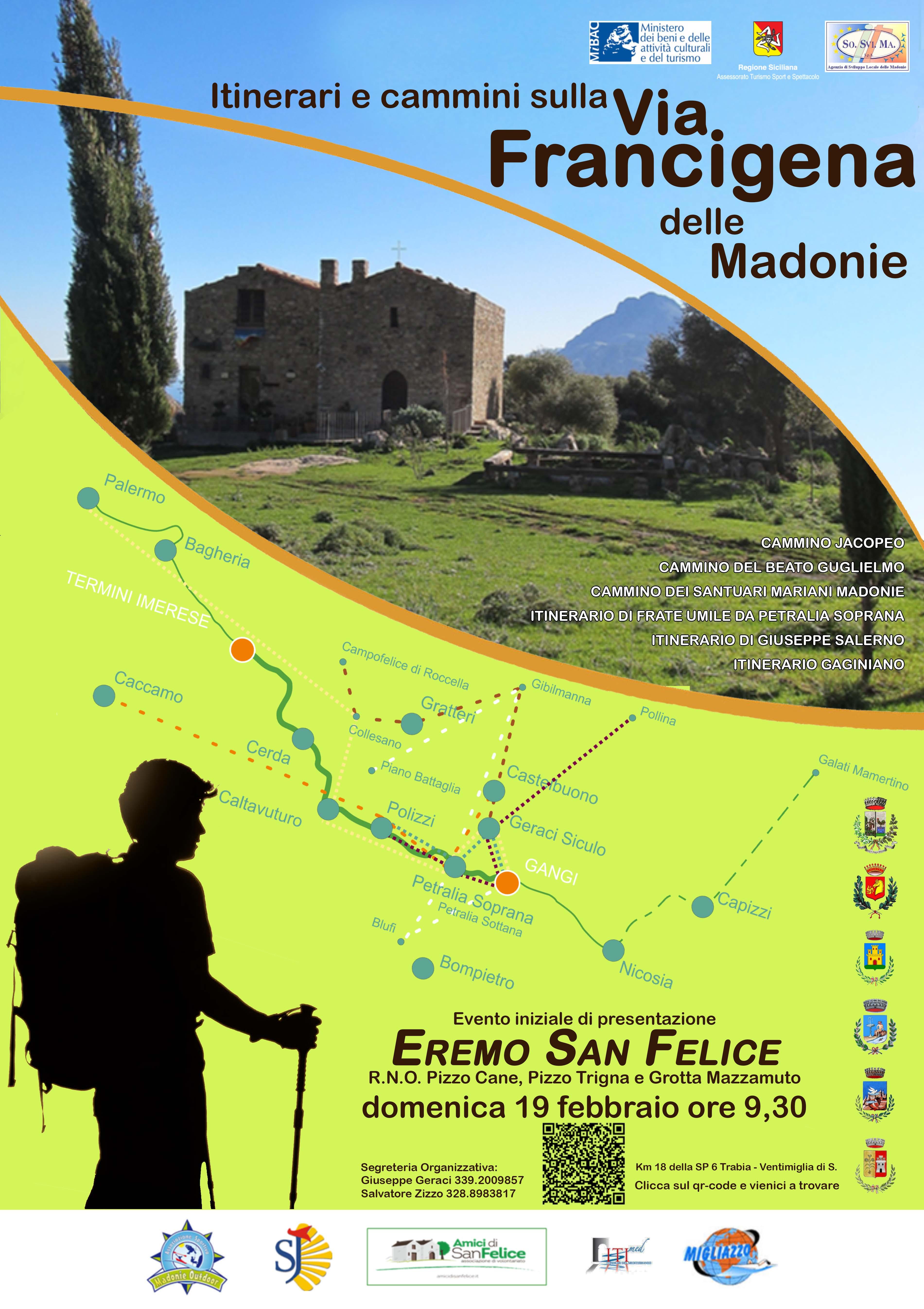Si presenta il progetto della Via Francigena delle Madonie