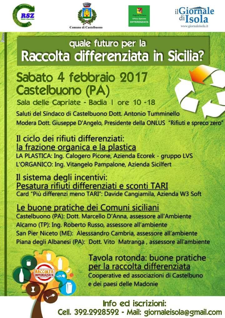Quale futuro per la raccolta differenziata in Sicilia?