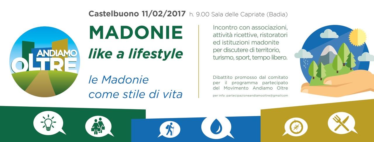 Madonie like a lifestyle