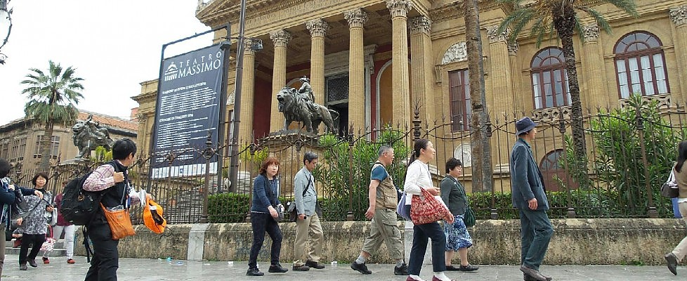 Turismo: boom di presenze a Palermo