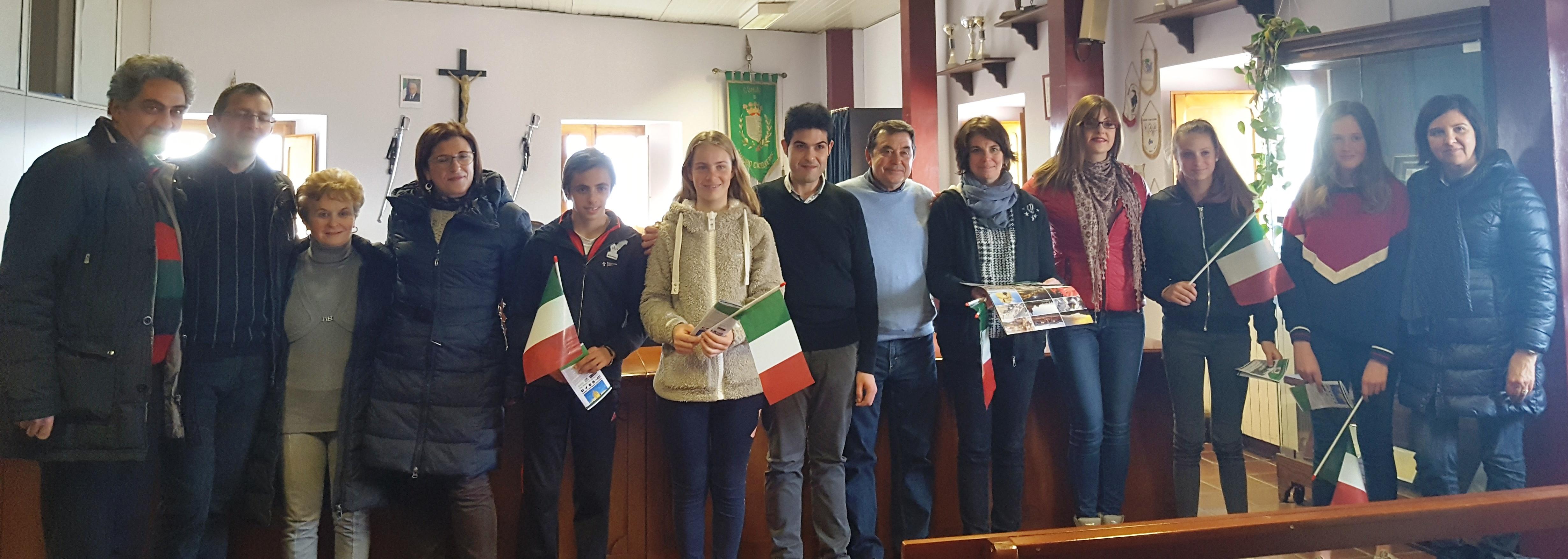 Eramus a San Mauro: studenti francesi accolti al Comune