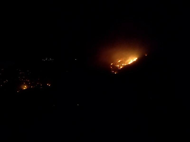 Incendi nel territorio di Pollina e San Mauro, Finale avvolta dal fumo