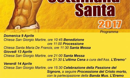 La Settimana Santa a San Mauro Castelverde