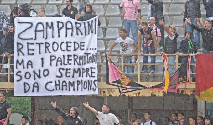 Palermo in B: con la squadra retrocede un'intera città