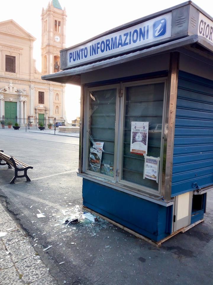 Atti vandalici a Termini Imerese, preso il responsabile