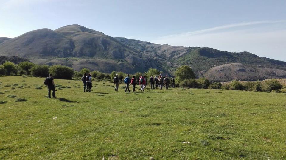 Il corso per guide ambientali ed escursionistiche al carnaio di Piano Farina