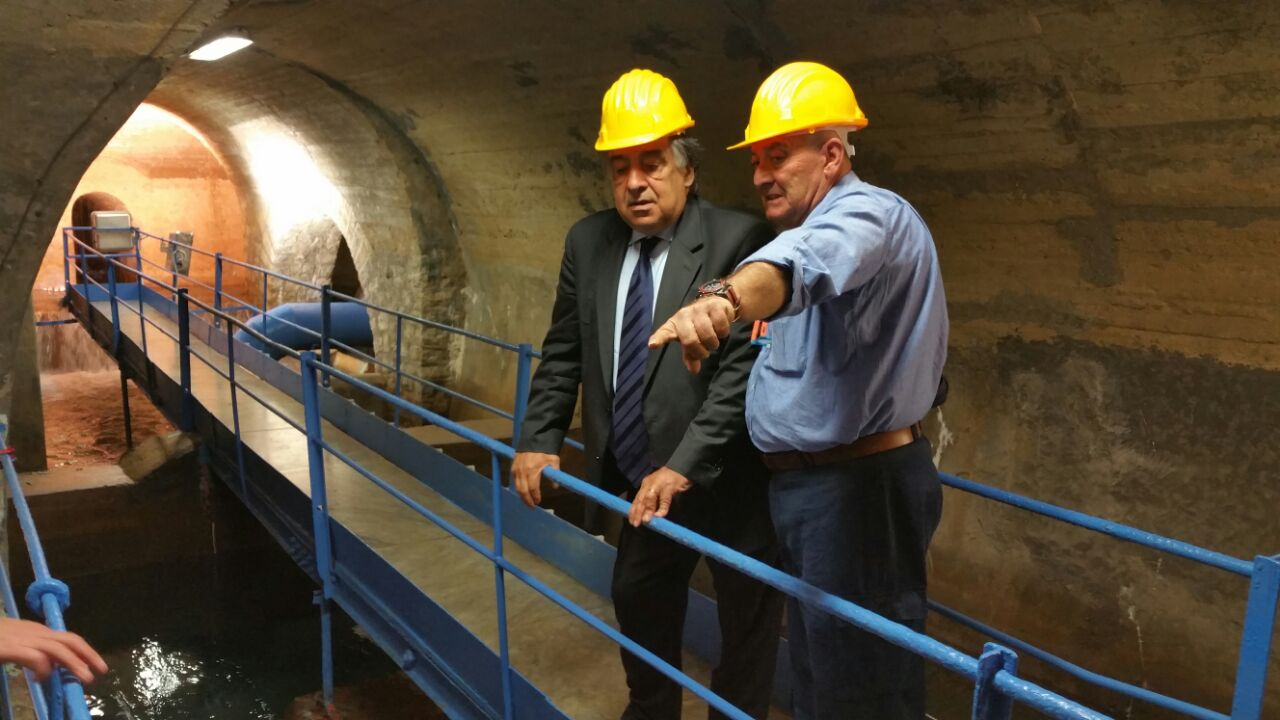 Inaugurato l'impianto AMAP per il recupero dell'acquedotto Nuovo Scillato