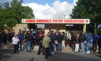 Petralia Soprana: intitolato lo stadio a Pietro Sorrentino