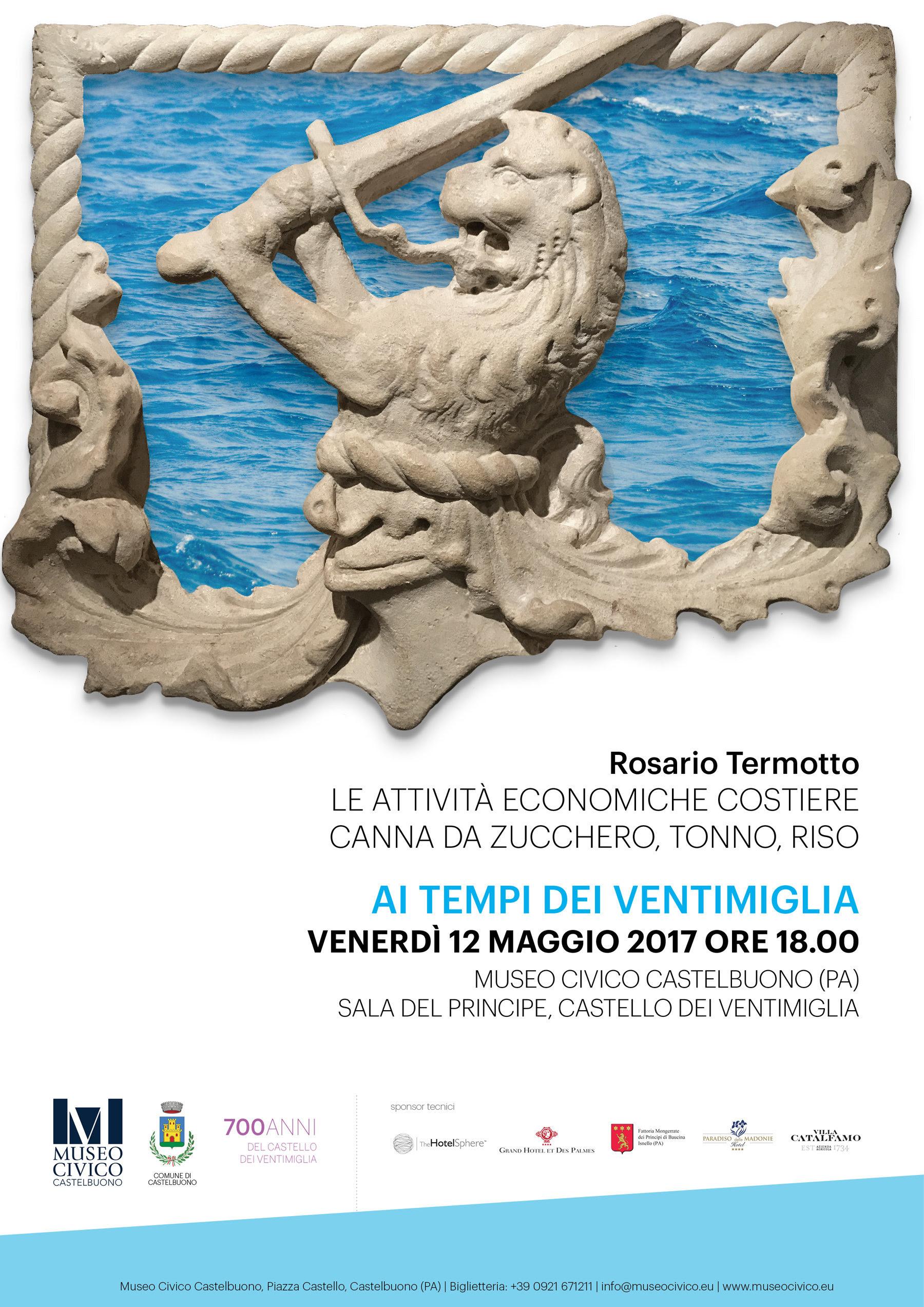 """""""Attività economiche costiere"""" al Museo Civico di Castelbuono"""