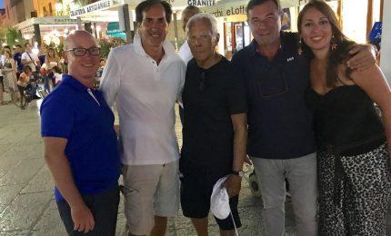 I rappresentanti di Federalberghi Palermo incontrano Giorgio Armani