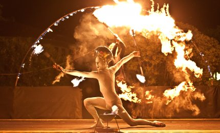 Il Teatro del Fuoco apre l'estate palermitana