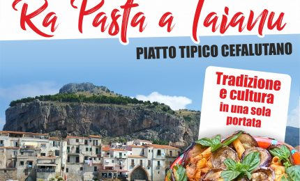 "A Cefalù la Sagra ""Ra pasta a Taianu"""