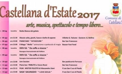 Gli eventi dell'estate a Castellana Sicula