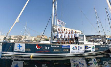 Regata Palermo-Montecarlo, a bordo anche un finalese