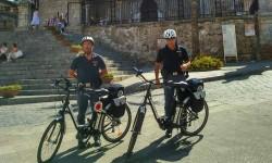 polizia in bici