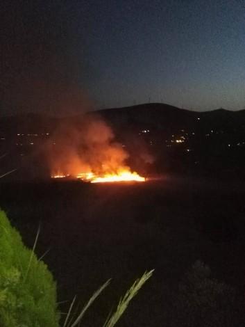 Ancora fiamme in provincia di Palermo, abitazioni in pericolo