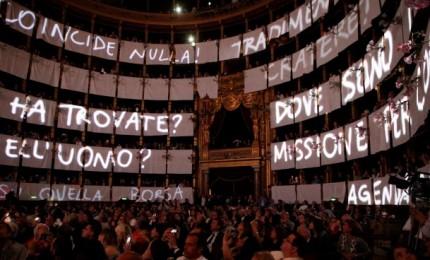 Uno spettacolo in ricordo di Falcone e Borsellino a Castellana Sicula