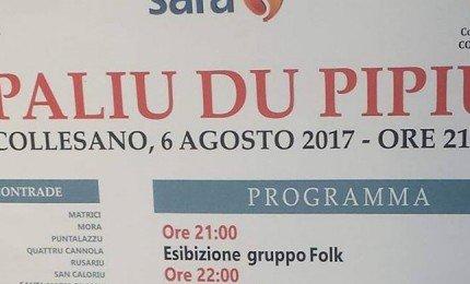 """A Collesano il decennale del """"Palio du Pipiu"""""""
