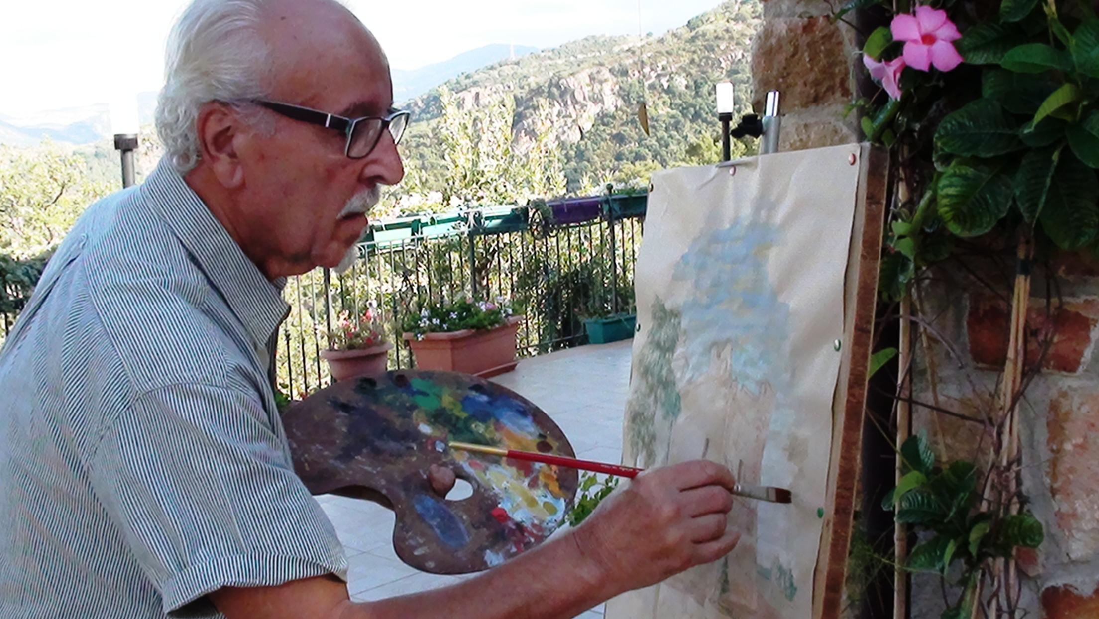 Cinquanta anni d'arte per Santi Vitrano