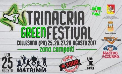 """Collesano: è tempo di """"Trinacria Green Festival"""""""